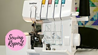 How to Thread the Brother 1034D Serger   Sewing Machines   SEWING REPORT