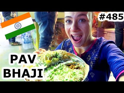JUHU BEACH PAV BHAJI  AND MARINE DRIVE | MUMBAI DAY 485 | INDIA | TRAVEL VLOG IV