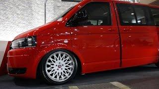 (4K) Volkswagen T5 Multivan - Osaka Auto Messe 2015 大阪オートメッセ2015