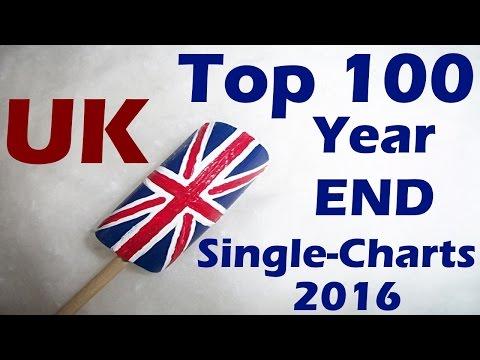 Top 100 UK Year-End Single Charts 2016   Top 100 Single Jahrescharts England   ChartExpress