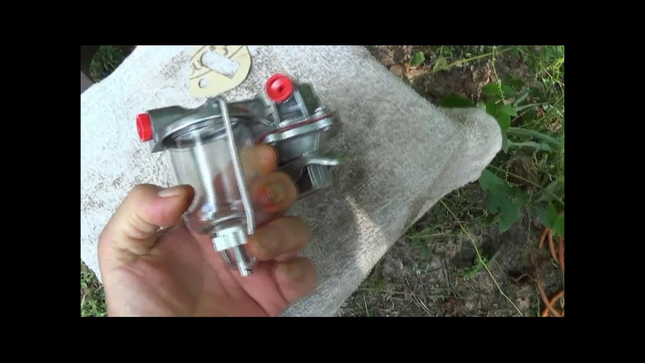 How To Install A Fuel Pump On Diesel Tractor Youtube 801 Powermaster Wiring Diagram