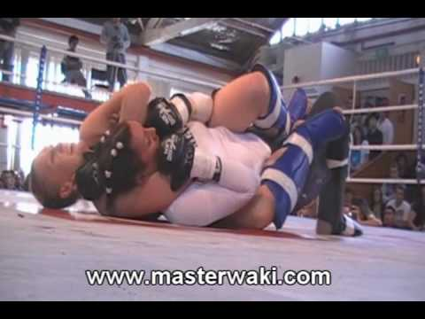 11 year old girl chokes out Muay Thai Fighter! from YouTube · Duration:  55 seconds
