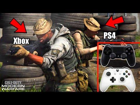 How To Cross Play On Call Of Duty Modern Warfare!!