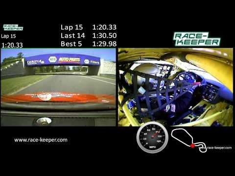Pirelli World Challenge  TC Round 6 in car NJMP Thunderbolt
