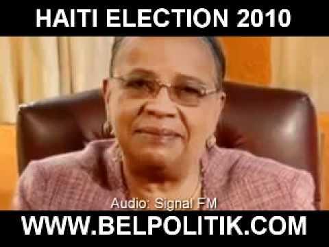 Candidate Mirlande Manigat National Address - Haiti, December 8 2010