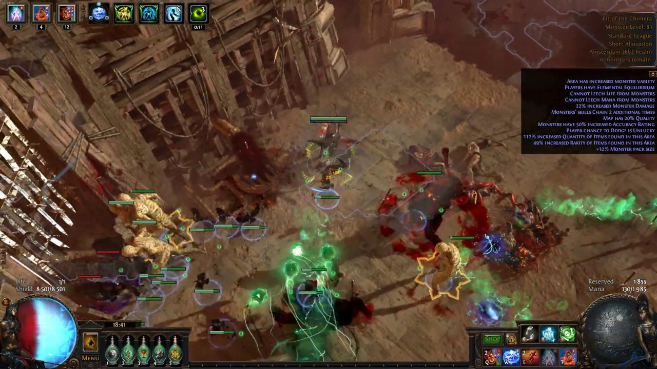 af81a285f88 3.7 Zombies/SRS Occultist] Pit of the Chimera (boss) - YouTube