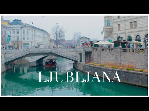 Slovenia Diary | Beautiful Ljubljana | January 2016