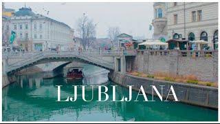 Slovenia Diary | Beautiful Ljubljana | January 2015