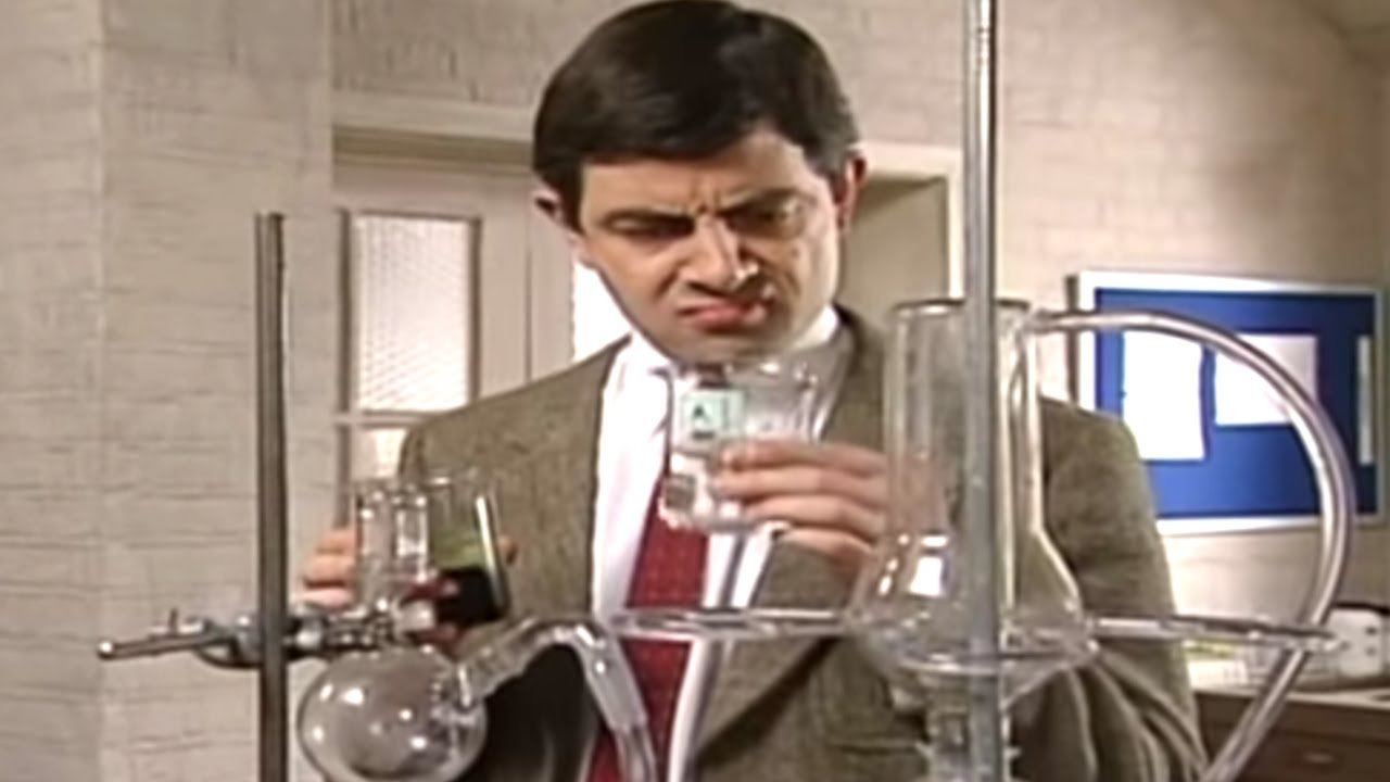 Chemistry Experiment | Mr. Bean Official - YouTube