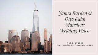Catherine & Jack - The James Burden and Otto Kahn Mansions Wedding