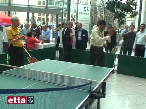 Sainsbury's and British Table Tennis Partnership.