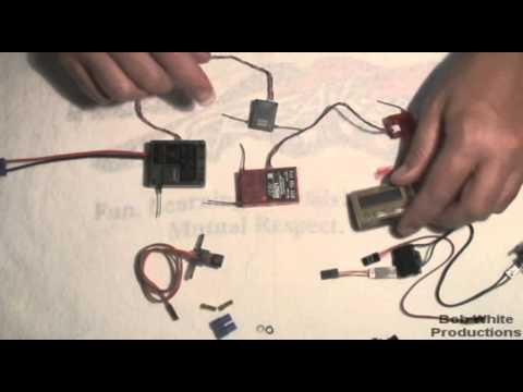 spektrum ar7100 7-channel dsm2 heli receiver overview