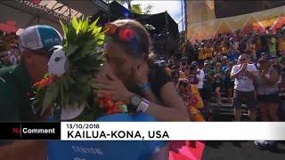 بعد لحظات قليلة من إعلانه الفائز الأول في تحدي Ironman World Championship، يوم السبت، والتي استمرت ثماني ساعات.…