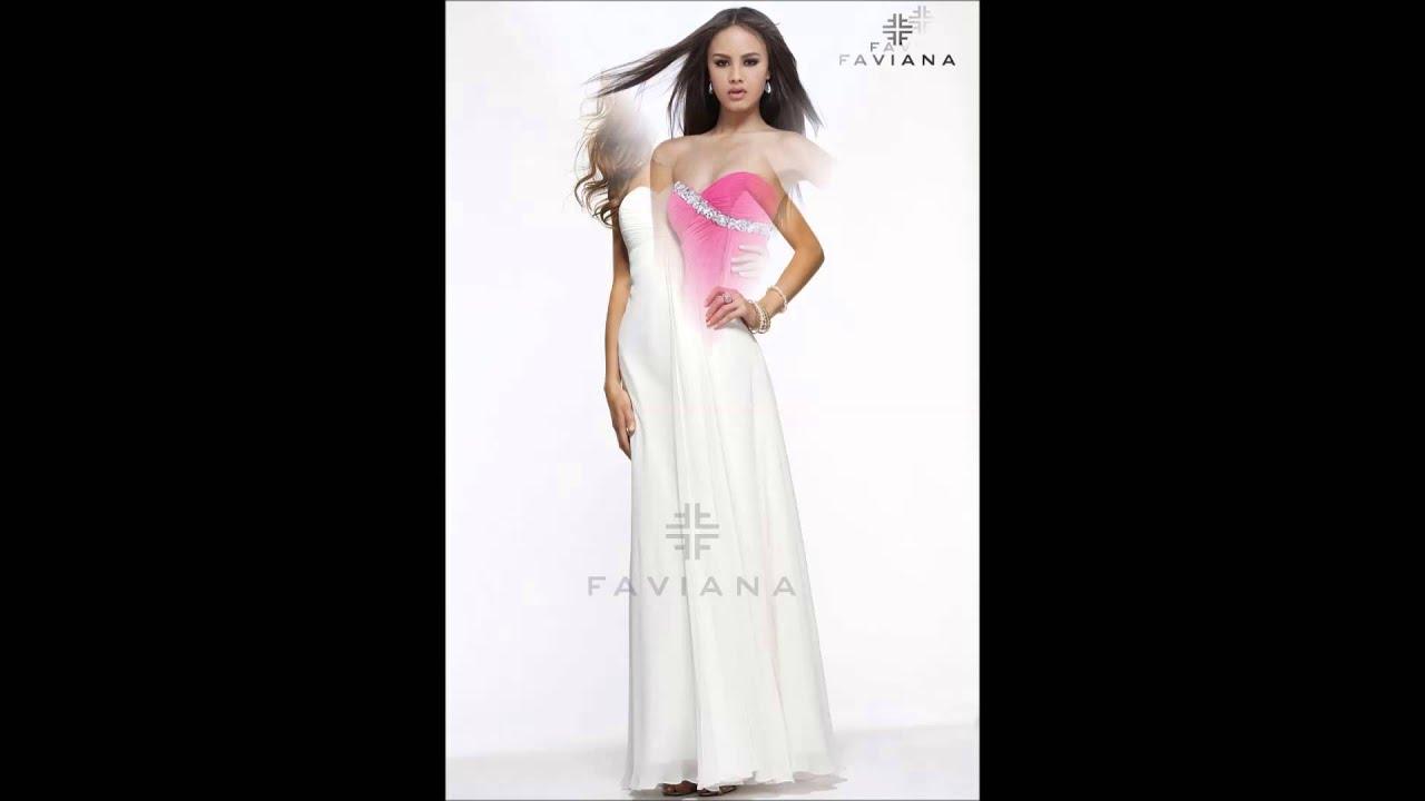 Faviana Evening Dresses Sassy Boutique Youtube