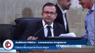 Audiência pública: situação de loteamentos irregulares em Pouso Alegre