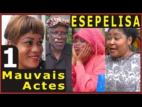 MAUVAIS ACTES 1 Vue de Loin Diane Buyibuyi Ebakata Dicaprio ESEPELISA Nouveau Theatre Congolais 2017