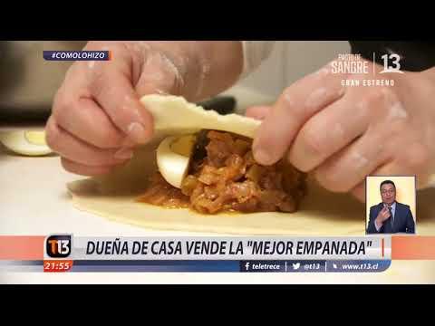 Dueña de casa vende la 'mejor empanada' #CómoLoHizo