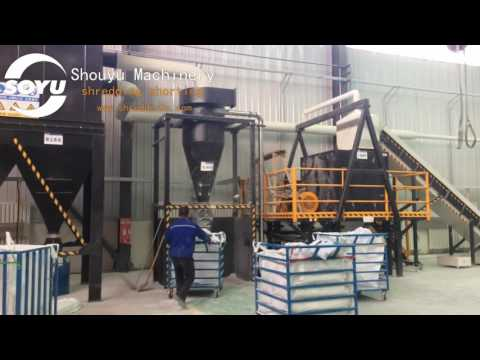Glass Fiber Reinforced Plastic‎ shredder