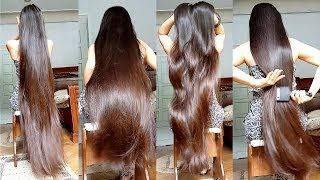 6 Minutes of Gohar's Doing Everything with her Super Silky Long Hair [ASMR] thumbnail