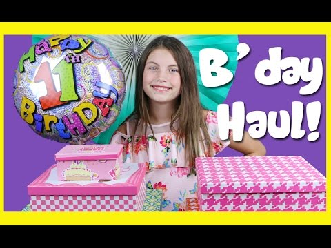 Charli & Ashlee's Birthday Haul!  Kids toys - Wubble shopkins mlp play doh mermaid trolls lalaloopsy