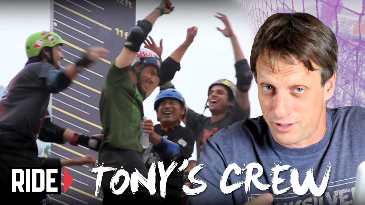 Tony Hawk, Andy Macdonald and Mitchie  Brusco Skate Venice Beach - Tony's Crew