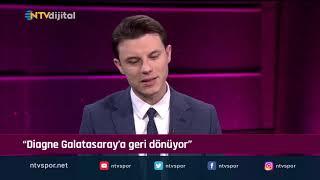 ''Diagne Galatasaray'a geri dönüyor'' (Futbol Net 25 Aralık 2019)