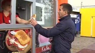 Вулична їжа - Паніні у Тернополі