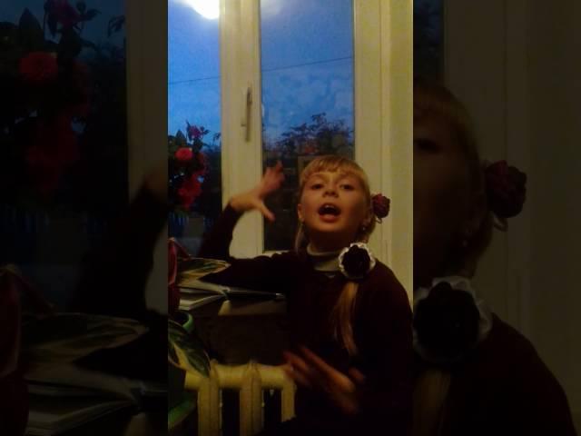 Изображение предпросмотра прочтения – ВикторияШтаймец читает произведение «Вечер» И.А.Бунина