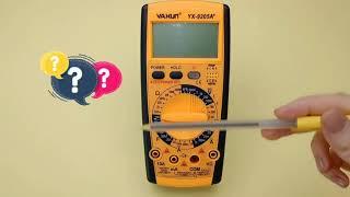 Как пользоваться мультиметром? Пробуем разобраться
