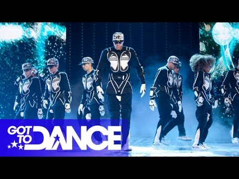 Diversity Perform | Semi Final | Got To Dance Series 3