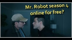 How to watch Mr. Robot season 4 online for free?