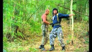 Федор Емельяненко на съемках фильма