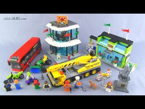 LEGO City Town Square 60026 set review! - YouTube