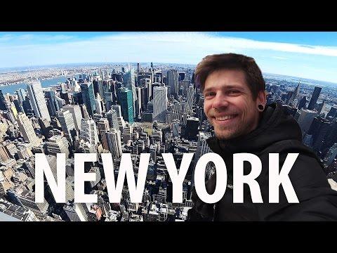 NEW YORK побывал везде, где хотел!