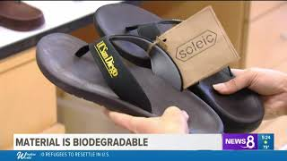 CBS 8: UC San Diego scientists create algae flip flops