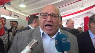 مصر العربية | رئيس جامعة عين شمس يفتتح معرضا للمنتجات المصرية