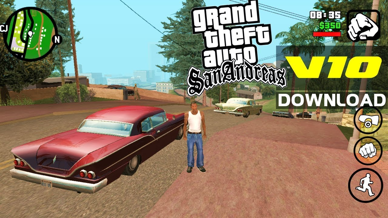 GTA San Andreas LITE v10 – Download APK+OBB (COM CLEO) – GTA SA  #Smartphone #Android