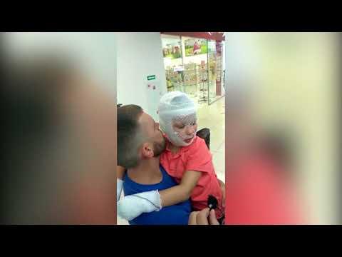 Взрыв в ТЦ Комсомолл в Иркутске пострадавший мальчик рассказывает подробности
