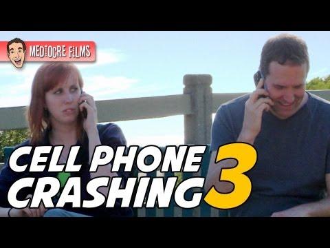CELL PHONE CRASHING at a PARK!