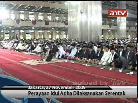 Sholat Idul Adha 1430 H Di Masjid Istiqlal (News tvOne_antv)