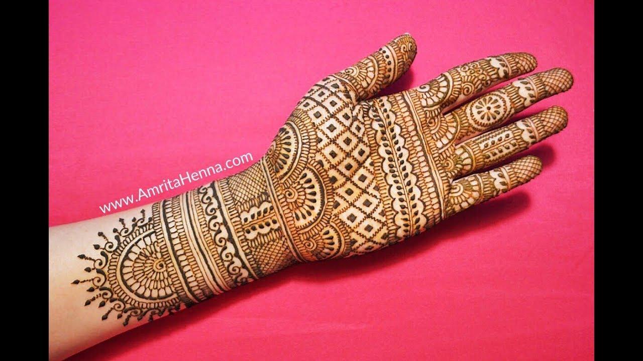 mehndi designs for hands bridal rajasthani