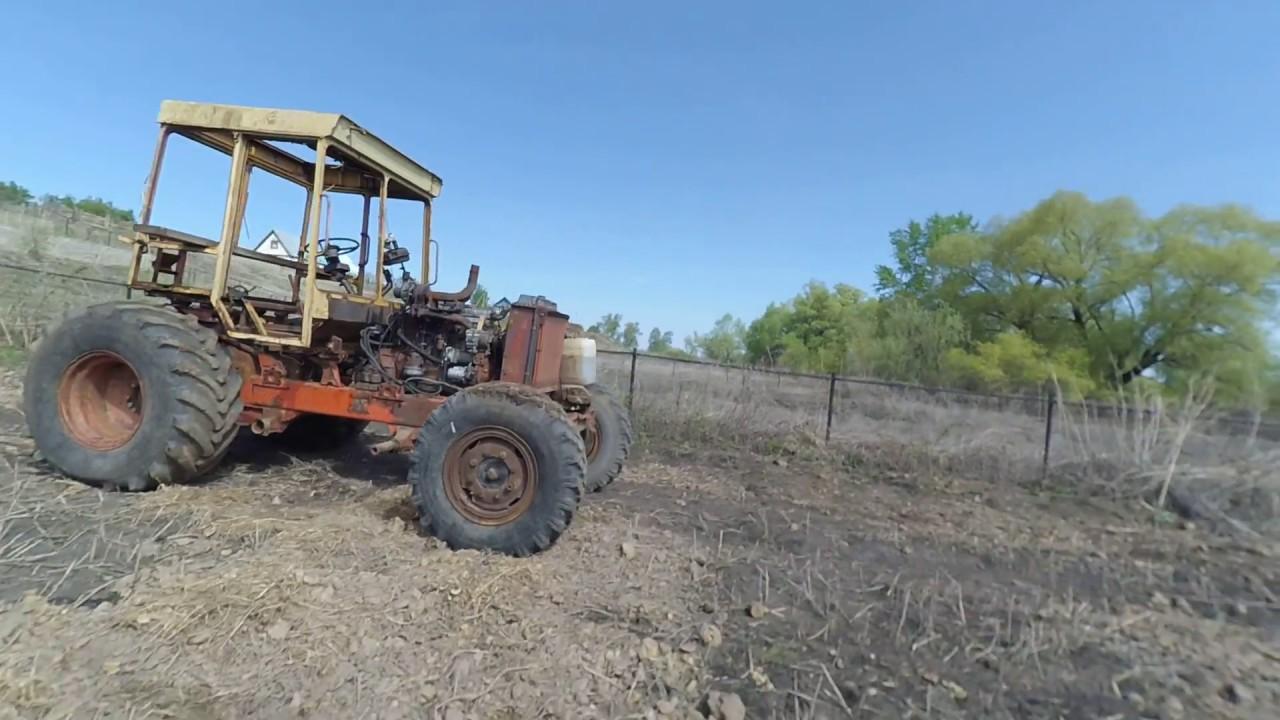 Скачать бесплатно Мод гусеничного трактора ДТ 75 Казахстан для .