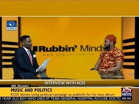 Music and Politics - AM Showbiz on JoyNews (14-9-17)