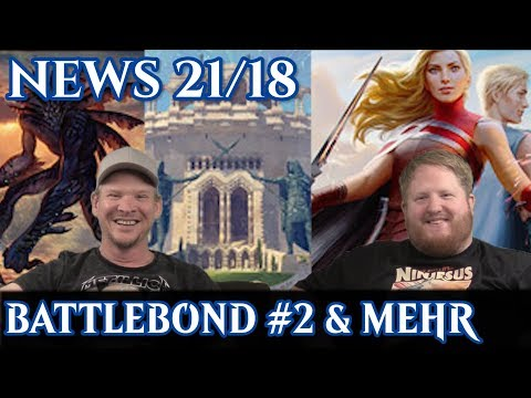 Magic News 21/18 Battlebond #2 & mehr deutsch traderonlinevideo MTG Trader trader-online.de