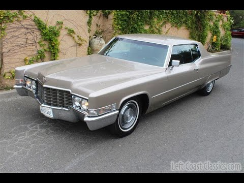 1969 Cadillac Coupe DeVille for Sale - YouTube