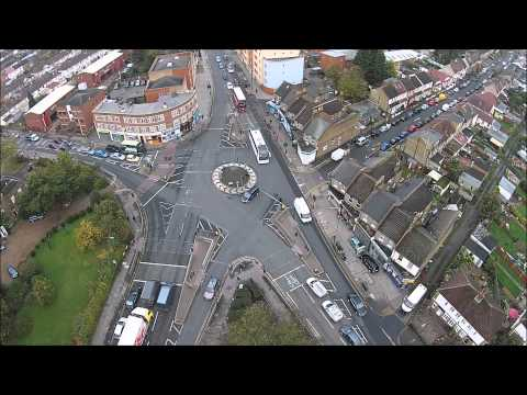 Quadcopter at Figge's Marsh, Mitcham, UK. (Phantom 2 Vision+)