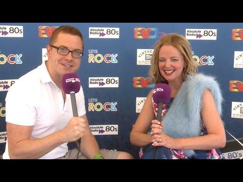 Clare Grogan  Let's Rock Southampton  2014