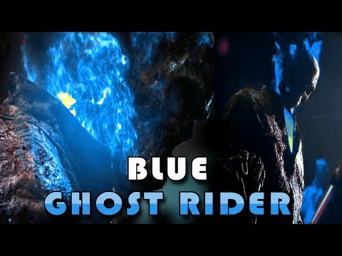 Ghost Rider Blue | Angel Rider Johny Blaze | Blue Ghost Rider Edited Review Trailer