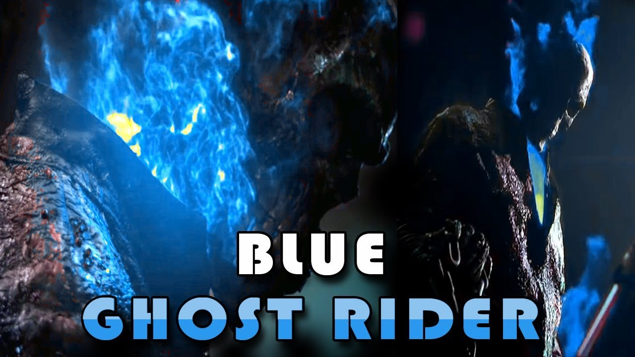 Ghost rider blue angel rider johny blaze blue ghost - Blue ghost rider ...