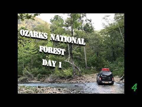 High Water Mark On The Ozark Trail - Day 1